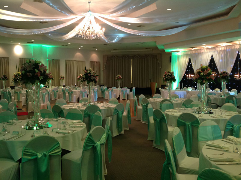 complete wedding reception decoration Adelaide