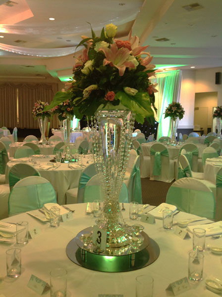 Adelaide table centrepiece hire