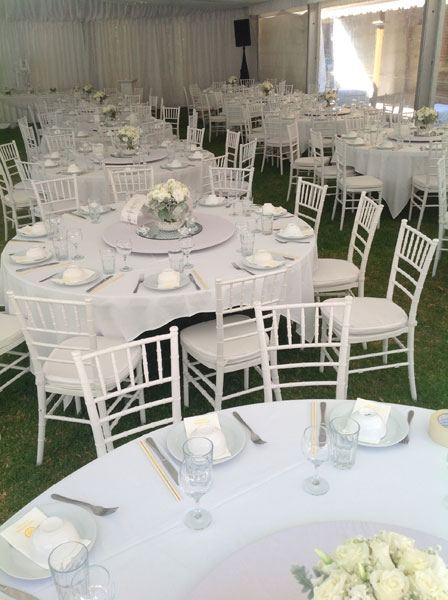 hire Adelaide wedding decoration