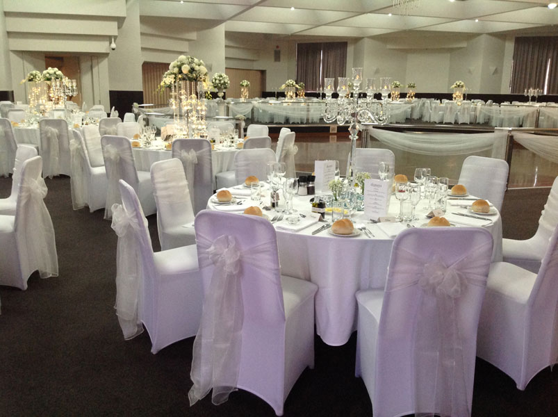 wedding reception table centrepiece hire Adelaide