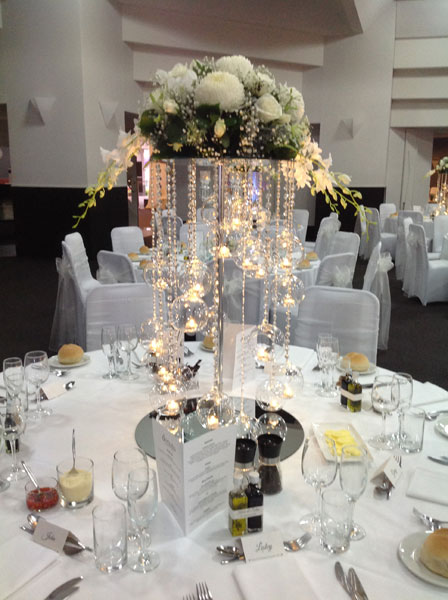hire wedding centrepiece Adelaide