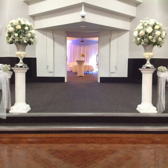 Flower arrangements for weddings in Adelaide