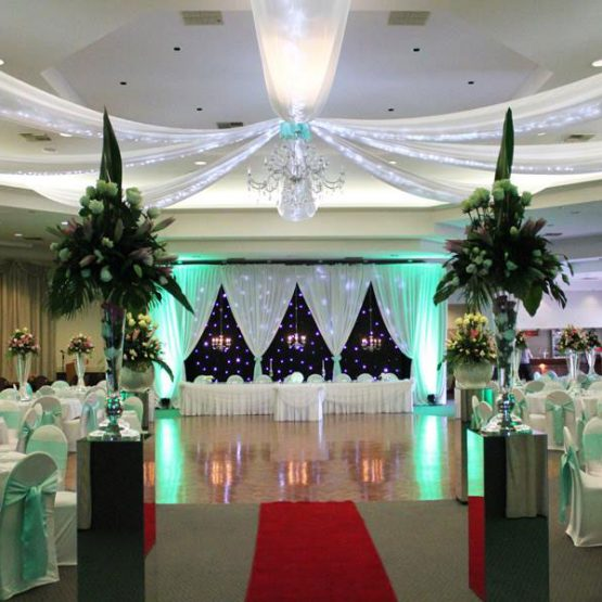 St Giorgio hall wedding hire